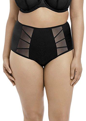 Elomi Women's Plus Size Sachi Full Brief, Black, 3L