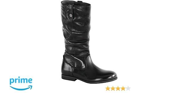 eb97cd26f94f1 Birkenstock Womens Sarnia High Boot Black Size 38 EU (7-7.5 M US Women)