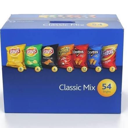 Frito Lay Classic Mix Variety Chips, 54 Bags by Frito Lay