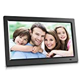 10 inch WiFi Cloud Digital Photo Frame with Touch Panel, Increased 20GB Free Cloud Storage, High-Resolution 1024x600 LED Display - Update & Share Your Photos Remotely