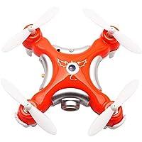 Cheerson CX-10C Mini Drone with Camera 2.4G 6-Axis Gyro RC Quadcopter (Orange)