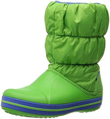 Amazon.com | Crocs Kids' Winter Puff Boot | Boots