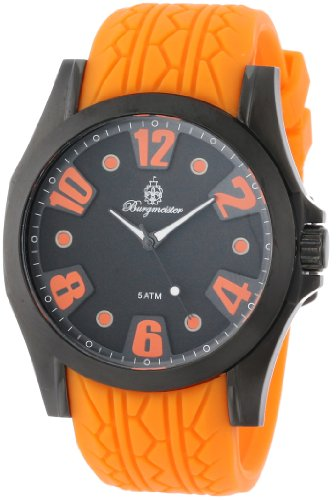 Burgmeister Men's BM606-620B Black Spirit Analog Watch