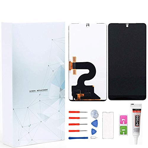 Maojia Essential PH-1 LCD Display Touch Screen Digitizer Replacement Assembly Glass Panel Complete Full for Essential Phone PH-1 5.7 inch (Black)