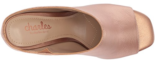 Charles By Charles David Women Goldie Slide Sandaal Rose Goud