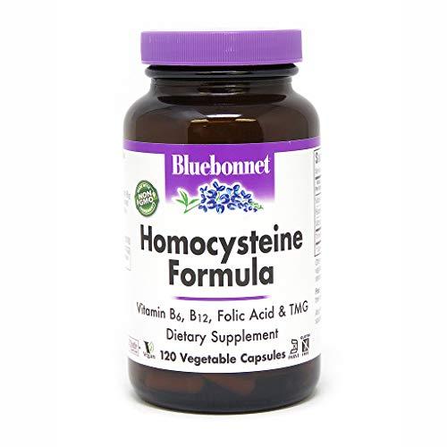 BlueBonnet Homocysteine Formula Supplement, 120 Count
