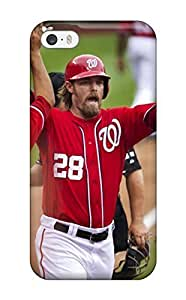 New Washington Nationals Tpu Skin Case Compatible With Iphone 5/5s by kobestar