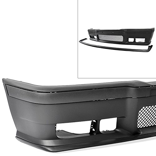 Compatible with 1992-1998 BMW E36 3-Series M3 Style Replacement for Front Bumper Cover + Lip + Clear Fog Lights 1992 1993 1994 1995 1996 1997 1998 Brand]: EAX