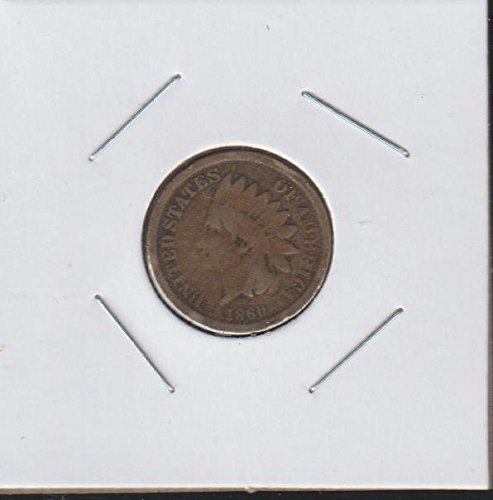 1860 Indian Head (1859-1909) Penny Very Good