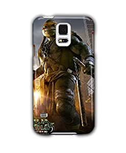 Tomhousomick Fashion High Quality Teenage Mutant Ninja Turtles Funny Design Case for Samsung Galaxy S5 I9600 Nunchucks Long Staff Double Swords Double fork