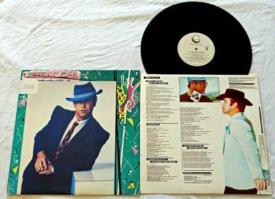Elton John LP - Jump Up (TWO) - Geffen Records - Near Mint Vinyl - W/ Pete Townshend (Rice Near Mint)