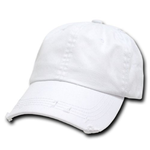 DECKY Vintage Polo Cap, White from DECKY