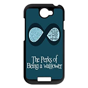 Chic Eden The Perks of being a Wallflower Quotes Durable Hard Plastic Case Cover fits for HTC ONE S