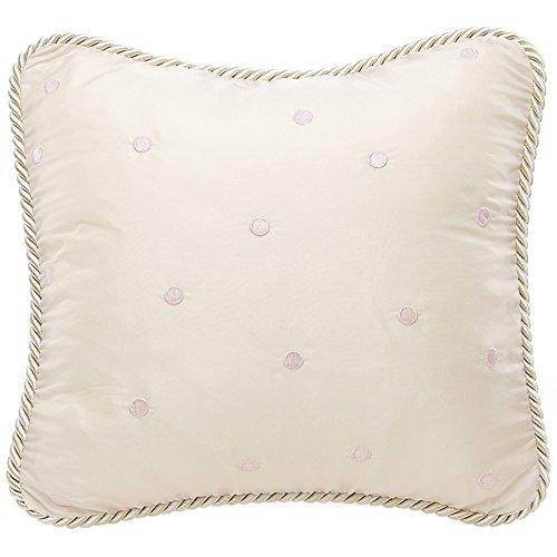 Glenna Jean Ava Pink Dot Pillow by Glenna Jean
