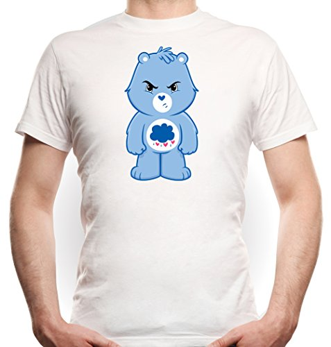 Angry Bear T-Shirt White Certified Freak