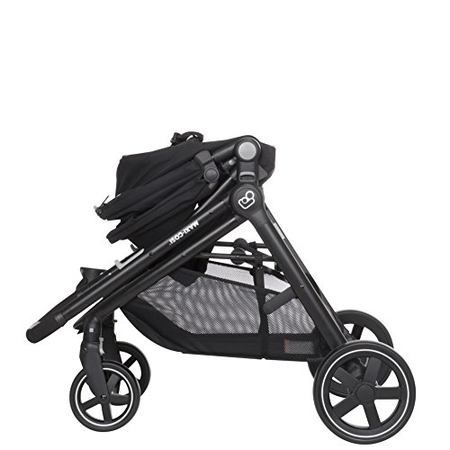Maxi-Cosi Zelia 5-in-1 Modular Travel System Stroller and Mico 30 Infant Car Seat Set (Night Black) by Maxi-Cosi (Image #12)
