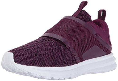 PUMA Women Enzo Strap Knit Wn Dark Purple-puma Black