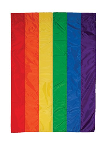 - In the Breeze 3702 Rainbow House Banner - 28 x 40 Inches