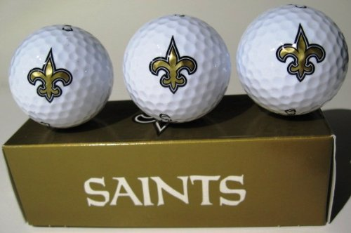 NEW ORLEANS SAINTS GOLF BALLS, Outdoor Stuffs