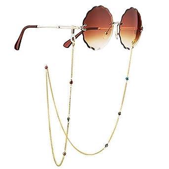 qualité de la marque États Unis haute qualité S'Wonderland - Cordon à lunettes - Femme Or doré taille ...