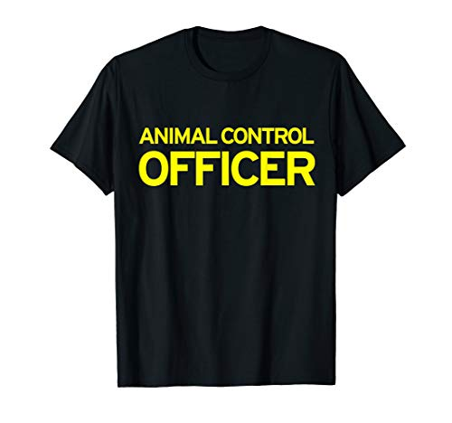 Animal Control Officer Halloween Costume T-Shirt -