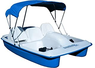Sun Dolphin 5 Seat Pedal Boat Mooring Cover Grey//Blue