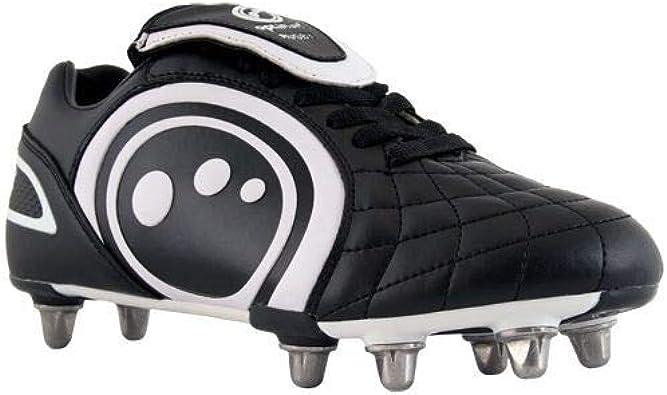 Optimum Hombre Eclipse Botines De Rugby - Hombre, Negro, 43 EU: Amazon.es: Zapatos y complementos