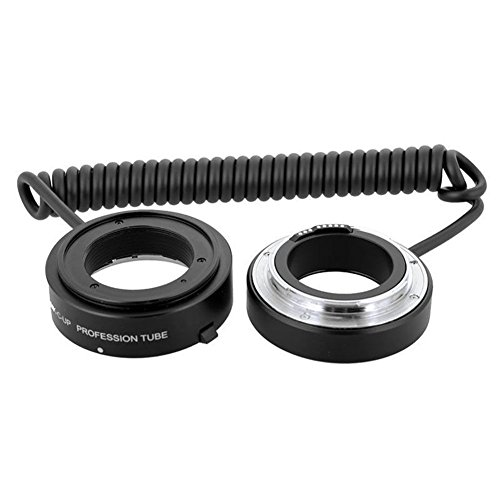 (Meike Automatic AF Auto Focus Multifunctional E-macro Extension Tube MK-C-UP Macro & Reverse Mount On Lens with 58mm 67mm 72mm 77mm Adapter Rings for Canon EF/EF-S Mount Lenses)