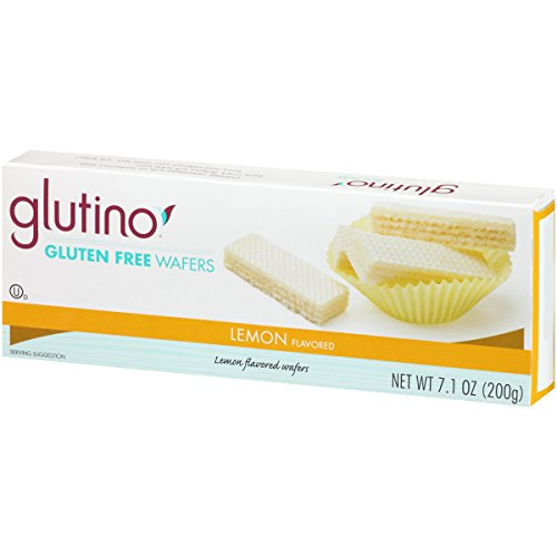 GLUTINO COOKIE WAFER LEMON WF GF