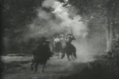 U.S. Infantry Supported by Rough Riders at El Caney