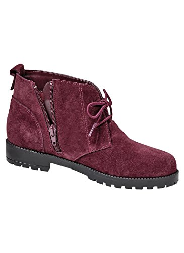 AmeriMark Womens Adult Harmony Casual Boots Burgundy HRjzZLip3