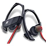 Iball Musi Track Lightweight Wireless Sports Headset (Black&Red)