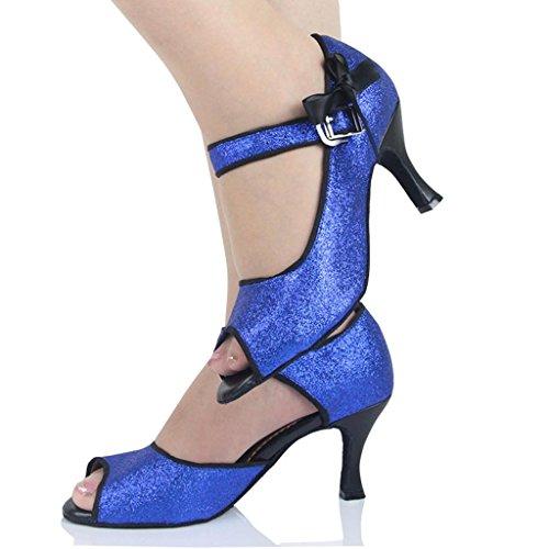 Mujer 5cm Monie Blue Salón 7 Hqwax05