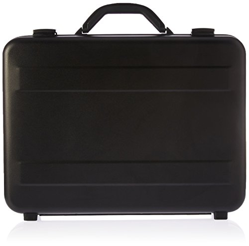 T.Z. Case International T.z Slimline Molded Aluminum Attache Case, Black, 18 X 13 X 3