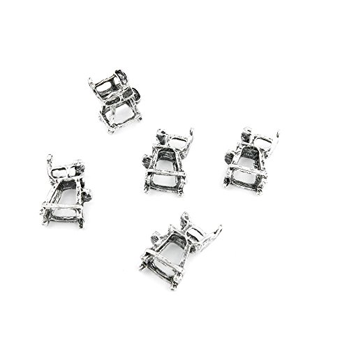 350 Pieces Antique Silver Jewelry Making Charms Pendant Lots Bulk Necklace Repair Retro DIY B0523 Umpire Chair ()