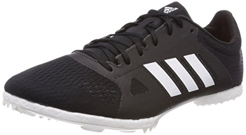 adidas Adizero Middle Distance Track & Field Running Spike Shoe Black - US 8.5 ()