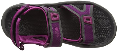 The North Face W Hedgehog Sandal II - Sandalias Deportivas Mujer Multicolor (Pamplona Purple/Fuschia Pink _ Epw)