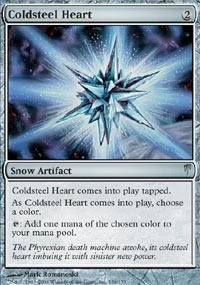 Magic: the Gathering - Coldsteel Heart - Coldsnap (Cold Heart Steel)