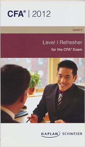 CFA LEVEL 1 REFRESHER PDF DOWNLOAD
