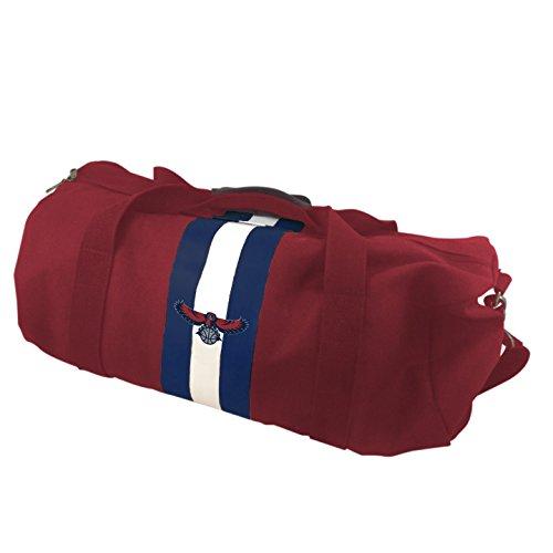 NBA Atlanta Hawks Red Rugby Duffel (Atlanta Hawks Bag)