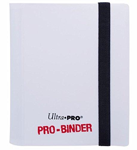 2 Trading Card Binder - Ultra Pro PRO-Binder, 2-Pocket, White