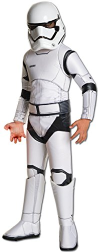 Star Wars: The Force Awakens Child's Super Deluxe Stormtrooper Costume, Medium (Halloween Costume Ideas For)