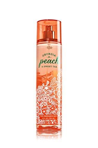 Bath & Body Works Georgia Peach & Sweet Tea Fine Fragrance Mist, 8 Ounce ()