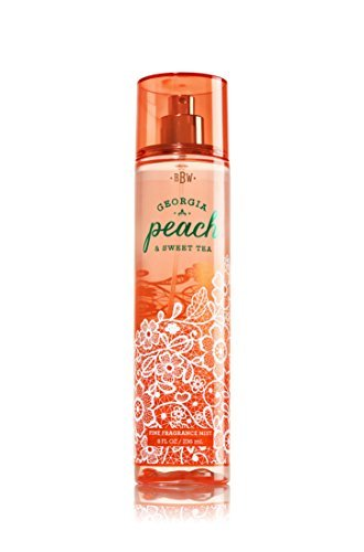 Bath & Body Works Georgia Peach & Sweet Tea Fine Fragrance Mist, 8 - Peach Bath