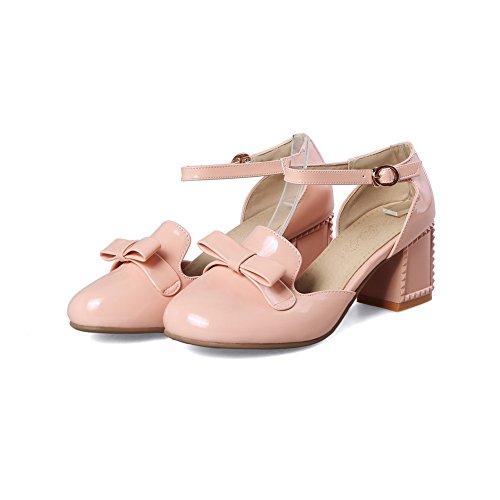 pink Eu Rosa Con 35 Donna Sandali Zeppa Balamasa qAwT0X