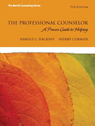 The Professional Counselor: A Process Guide to Helping with MyCounselingLab without Pearson eText -- Access Card Package (7th Edition)