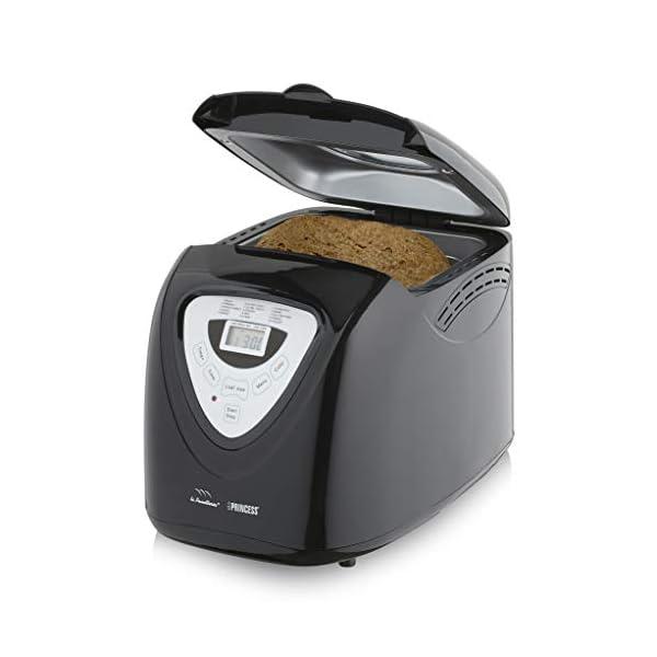 Princess 152009 Macchina per il pane - 600 Watt, Grande capienza 0.9kg, 15 programmi di cottura, Modalità senza glutine… 2