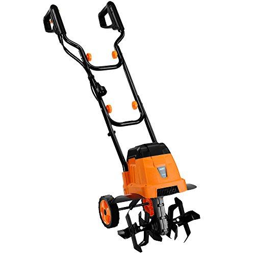 (VonHaus 12.5-Inch 7 Amp Electric Tiller and Garden Lawn)