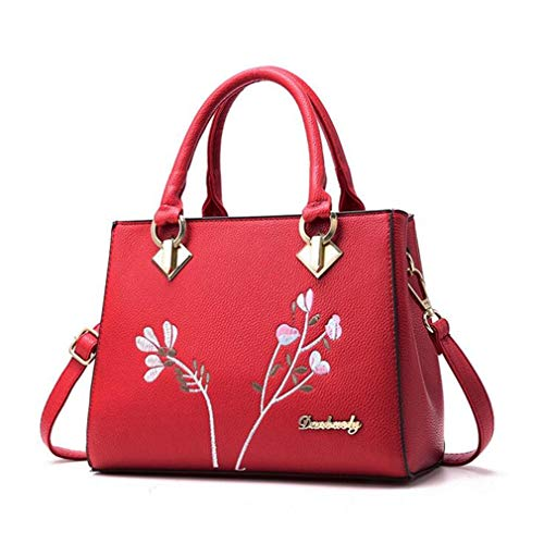 Brand Shoulder Blue Bags Fashion Blue Crossbody Purse Size Flowers Messenger Floral Women Lady 21Club Decoration Totes Handbag Hotsale One Rivet dZqRaw