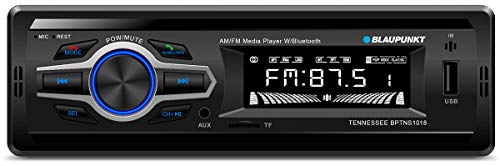 Blaupunkt Tennessee BPTN1018 AM/FM Bluetooth Media Receiver with Mobile App for Android and -